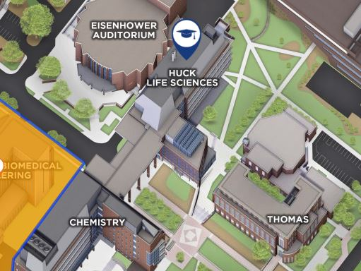 Life Science Map Photo