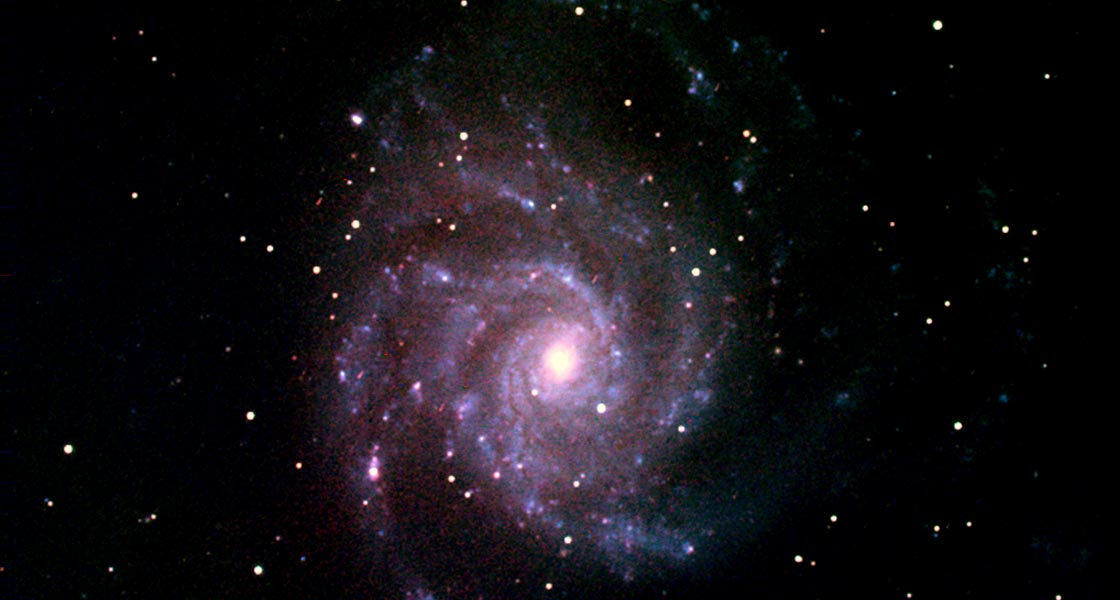 Image of galaxy M101.