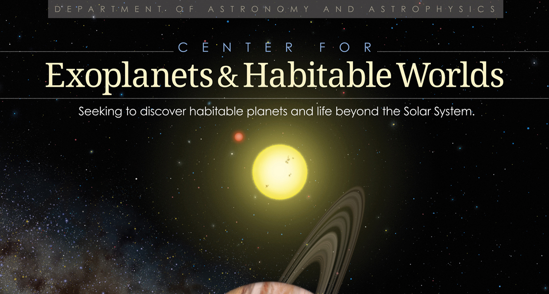 Center for Explanets and Habitable Worlds logo