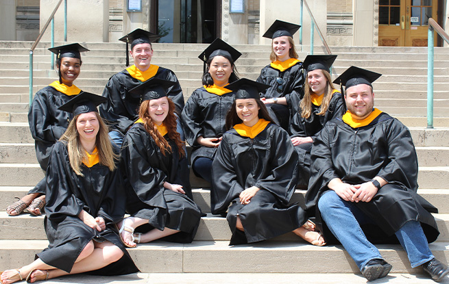 Forensic Science Grad Students, Class of 2018