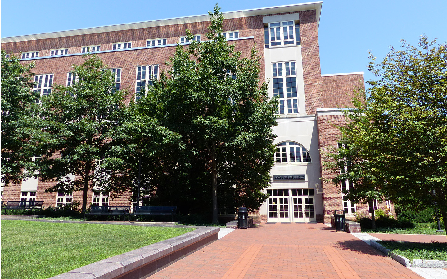 Thomas Building on the University Park campus.