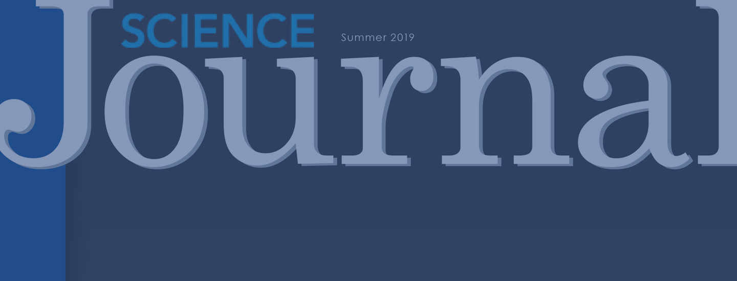 Summer 2019 Science Journal Cover.
