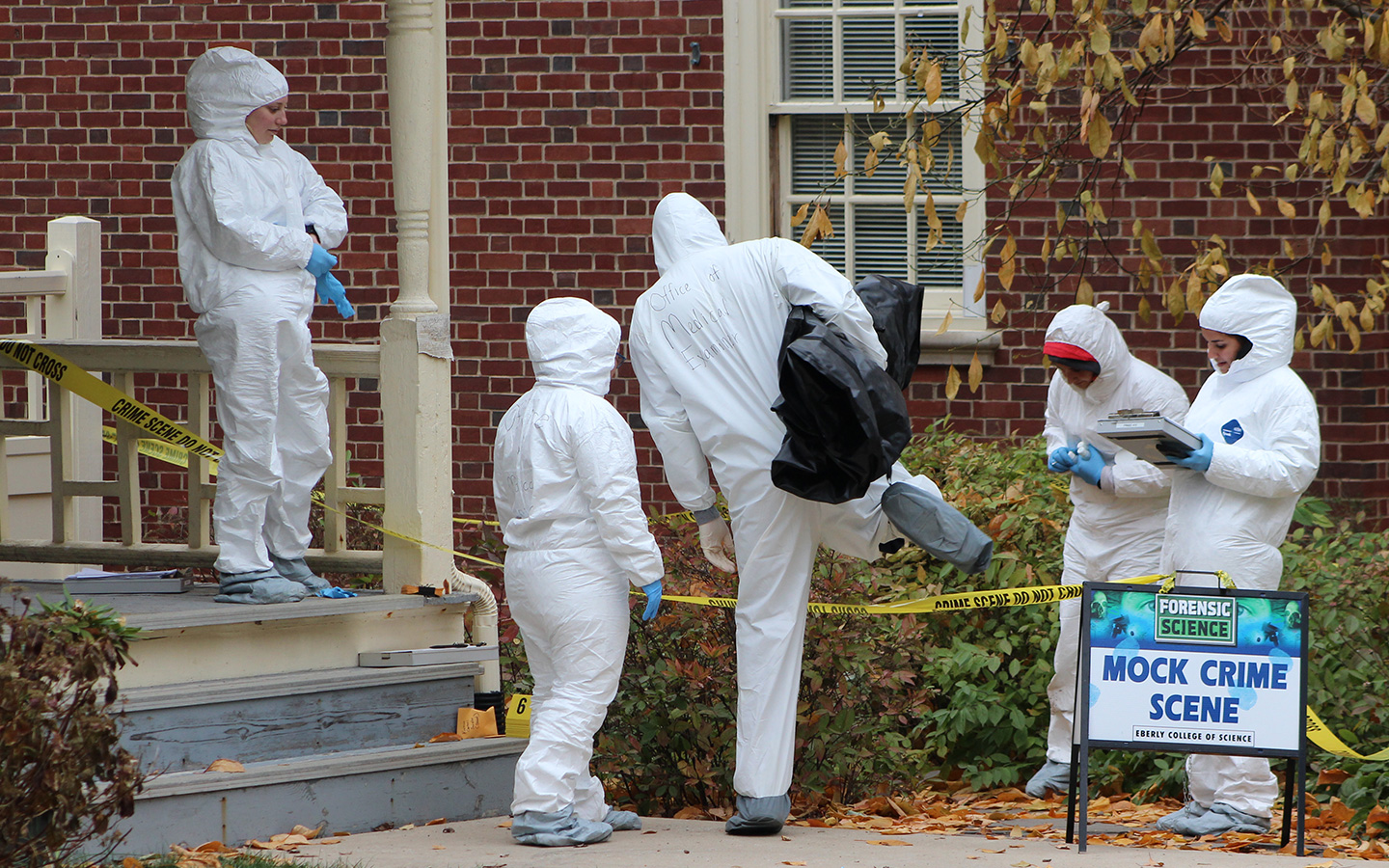 Forensic Science About Us Eberly College Of Science