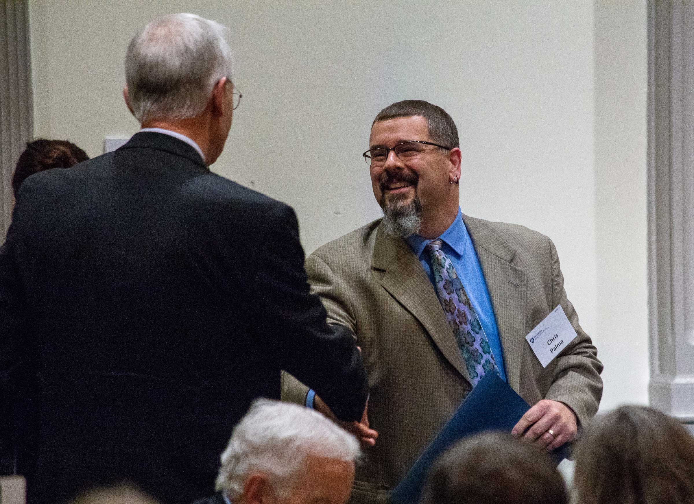 Palma receives C.I. Noll Award