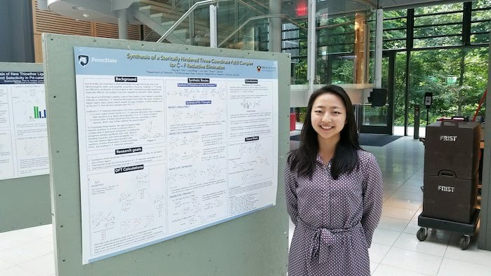Sojung Kim is a rising senior and chemistry major.