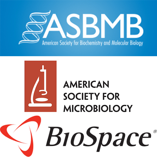 ASM, ASBMB and BioSpace