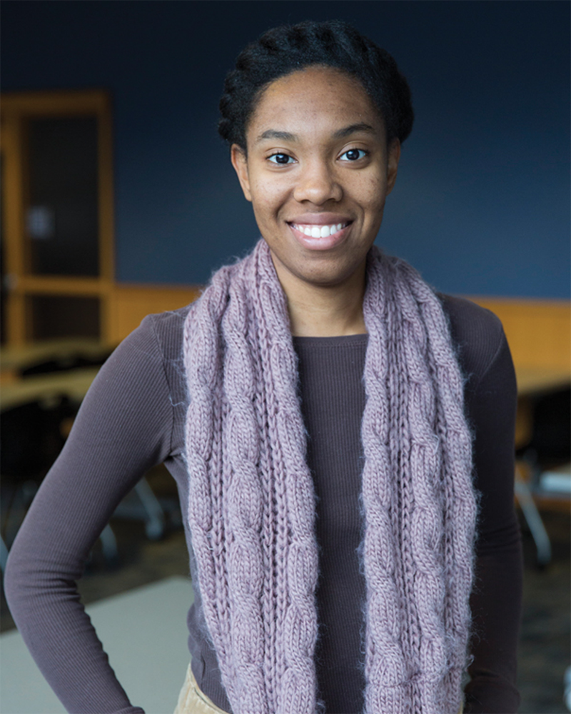 Latisha Franklin, first-place winner of the 2019 I AM STEM competition
