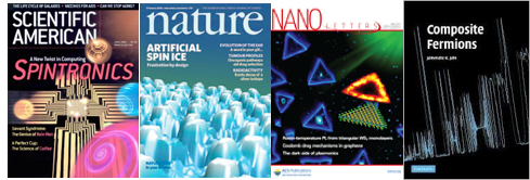 Cover articles in condensed matter physics