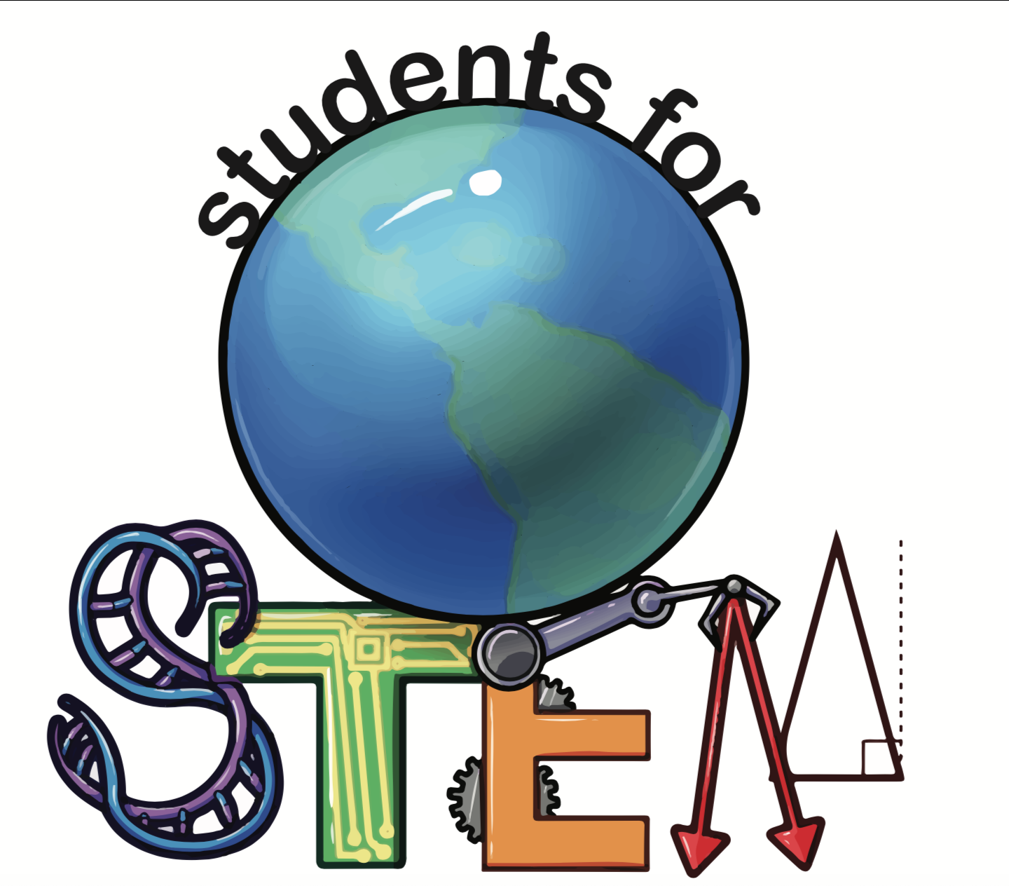 Students for STEM Logo