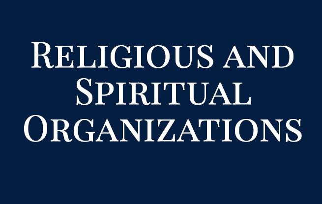Religious and Spiritual Organizations
